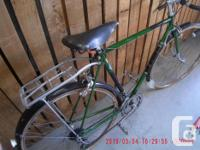 Vintage Raleigh Road Bicycle Made in Nottingham