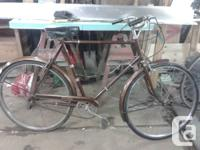 Vintage Raleigh Sports 3 speed bike. The ultimate
