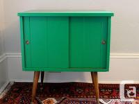 Awesome mid-century record cabinet, fully refurbished
