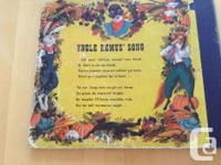 """RCA Victor Youth Series storybook of 2 10"""" LP's. Story"""