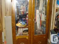 Antique Mirrored  Outfit Closet: Collectibles,