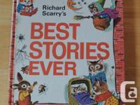 Vintage Richard Scarry's Best Stories Ever hardcover