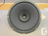 Rola 12 inch Alnico speaker, Excellent condition. 30