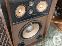 Very cool old vintage Sansui SP-1200 speakers from the