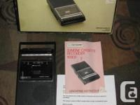 Vintage Sears Electronics Cassette Player Recorder
