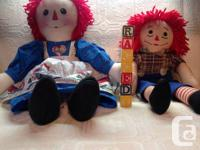 Raggedy Ann doll in excellent like new condition.