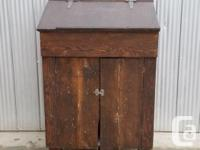 This is a great reclaimed farmhouse cabinet that could