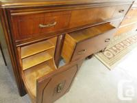 Good condition vintage sideboard by Knechtel. Full