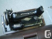 Vintage Simanco Singer Sewing Machine, 40s Singer