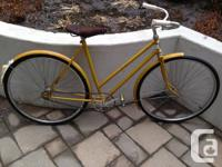 Selling a single speed with a coaster brake (the