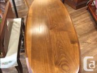 """Vintage Console / Sofa Table. Measures: W. 39 1/2"""" D 16"""