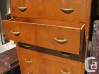 drawer bottoms are good original handles and wheels