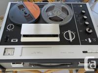 Very rare, 1968 Sony model TC-560 auto-reverse 3-speed