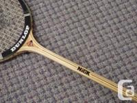 "- This is a classic - Dunlop ""NiCK"", wood construction"
