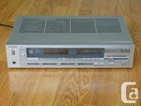 "One used vintage Technics SA-310 ""New Class A"" Quartz"