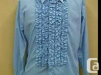 Vintage TUXEDO SHIRT and or Jacket size large 16 - 17