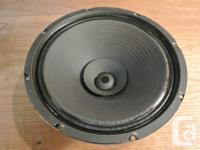 """Vintage Utah brand 12"""" instrument speakers Model"""