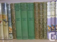 CLASSIC ANTIQUE BOBBSEY TWINS COLLECTION PUBLICATIONS