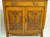 This is an amazing antique Victorian quarter cut oak