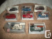 Lot of 8 Miniature 1:87  HO scale high quality European