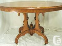 Used, antique walnut Victorian Eastlake format eating, shop, for sale  British Columbia