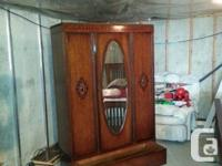 Closet Armoire ... ... ~ 100 years of ages  ......