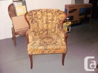 This is a timeless & gorgeous wing chair from the