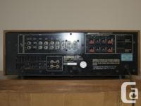I have a vintage (1980s ?) Yamaha CA-810 power amp for