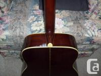 Excellent Condition (1974) Spruce Top Mahogany Back &