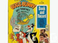 BUGS BUNNY GET THAT PET (book & record) It's fun to
