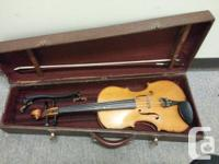 I am selling my handmade viola.  It has a beautiful