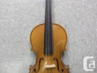 Violin in Good Used Condiiton (some wear on neck) -
