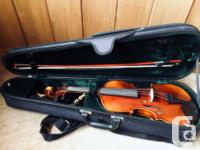 Hand-made violin by Scott Cao and his workers. This is