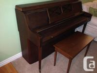 Purchased piano from trustworthy piano conservator in