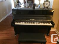 I have a lovely Strauss Piano available for sale. I