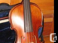 Violin Stradivarius design created Jules Saint-Michel
