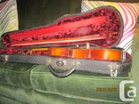 a beautiful French, built stratavarious violin, with