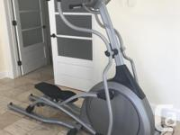 Minimally used folding elliptical, folds for compact