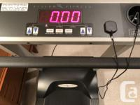 This Vision Fitness Treadmill is a few years old but in