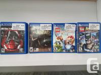 We have a small selection of Vita games currently