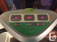 The Vitality 600 Vibration Platform utilizes Weight