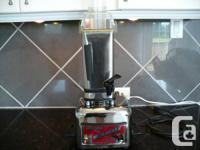 - Super blender can juice foods; mill whole grains to