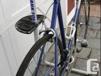 - Vitus 797 thin wall bonded aluminum frame and fork.