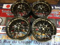 VOLKRACING SE37 FORED MONOBLOCK WHEELS IMPORTED FROM