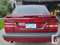Make Volvo Model 850 Year 1996 Colour Burgundy Red kms