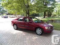 Callander, ON. 2003 Volvo S60. This trusted and also