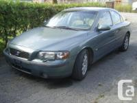2002 Volvo S60 2.4 - 4DR Sedan. Completely Filled -