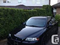 2005 - S60R - Sapphire Black - 14,500 OBO *SERIOUS for sale  British Columbia