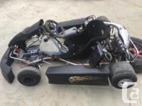-Racing Cart with 2-stroke Vortex engine -Does 100kph