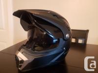 Voss Dually 600 Helmet. Lightly used for 3 seasons.